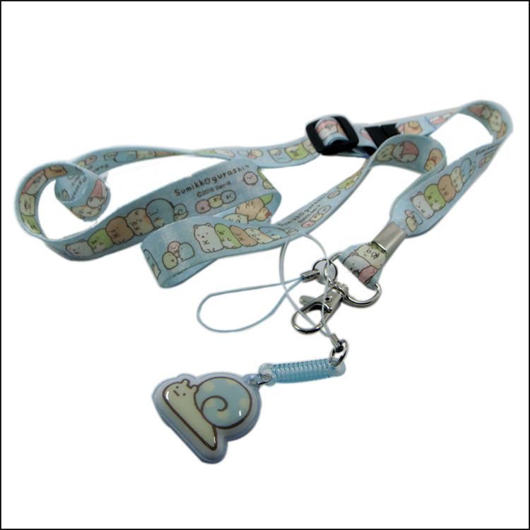 sublimation cute logo neck strap