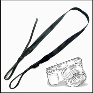时尚简约人字纹织法单反相机背带肩带斜挎减压带挂绳通用型