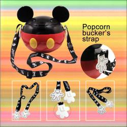 迪士尼创意个性米奇爆米花桶吊带电影周边饰品纪念品