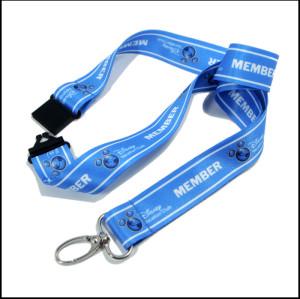 蓝色热转印可定制图案加宽涤纶织带厂牌带