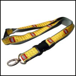 高质量金色织唛带厂牌带工作证挂绳