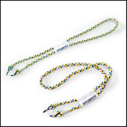 多彩编织眼镜挂绳眼镜防滑套固定防滑绳耳勾绑带链