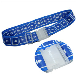 优质透明插扣标志图案箱包带行李拖运带