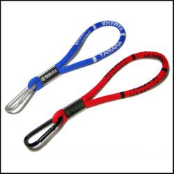 优质高弹纱柔软舒适提花带爬山钩手机绳钥匙手腕挂绳