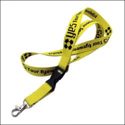 双层加厚加密提花logo优质涤纶挂绳证件卡套吊带