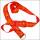 迪士尼喜气大红色加宽超柔热转印吊带证件套挂绳