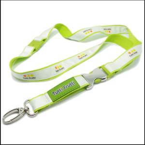 优质柔软耐用不褪色带硅胶厂牌挂绳织唛工作证件带