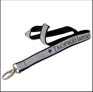 安全时尚金粉反光带高亮反光证件挂绳荧光多用途挂带