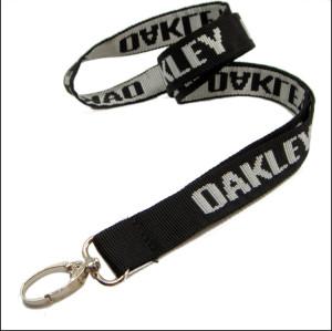 优质尼龙提花工作证件套挂带有光泽织带厂牌带