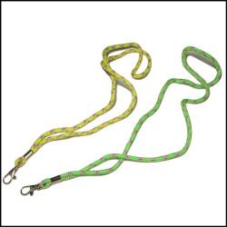 结实耐磨微弹PP纱编织包芯涤纶织带证件挂带厂牌吊绳手机锁匙挂绳