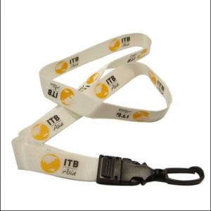 柔软舒适环保双面印刷尼龙挂带证件套挂绳通用挂带