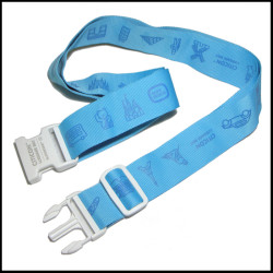 旅行社宣传赠品旅行箱包带安全耐用的行李箱绑带打包带