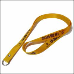 金色加厚不褪色证件胸卡挂绳证件尼龙挂带