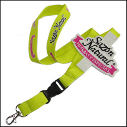 可爱环保硅胶涤纶儿童证件套挂绳高档宣传赠品挂带