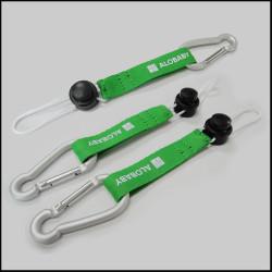 可调节水壶扣短带户外旅行爬山钩挂扣短绳