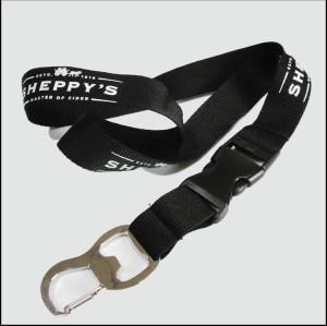 广告宣传开瓶器挂绳多功能方便安全的证件套织带