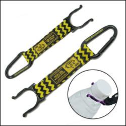 bottle holder strap with carabiner for adverting gift