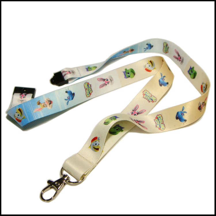 Hot Neck Strap Lanyard Safety Breakaway For ID Name Badge Holder Keys Metal = fq