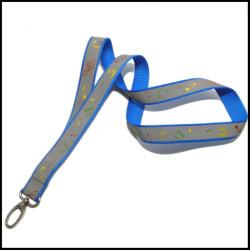 美丽音符logo活动音乐会宣传反光带有特色的丝印工作证胸卡挂绳