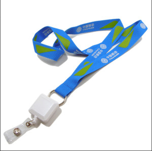 中国移动企业宣传赠品挂带员工工作证件套挂绳