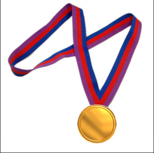 Activity souvenir polyestere medal hold neck strap