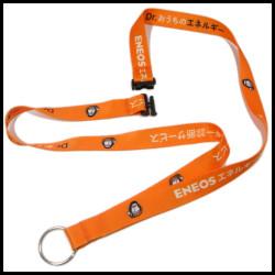 工厂直销宣传定制环保双面热转印织带厂牌带工作证挂绳学生卡挂带
