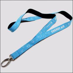 双面异色可定制丝印logo厂牌带证件套带展会挂绳