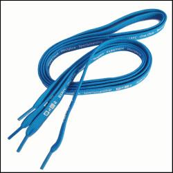 蓝色中空PK带印字小白鞋休闲鞋运动鞋带