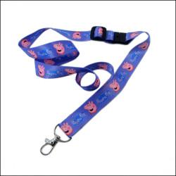 小猪佩奇系列热转印儿童证件挂绳安全可调节的男女童挂带