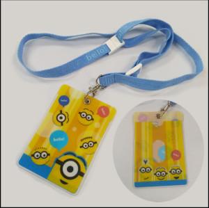 迪士尼系列儿童证件套挂绳安全环保男女童挂带