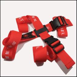 牢固结实的PP纱加粗织法旅行十字打包带航空公司宣传礼品赠品箱包带