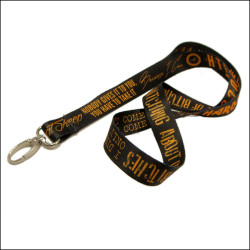 Fine printing can be customized heat transfer printing neck lanyards