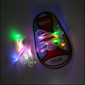 Cool LED PK laces event party supplies glowing shoelaces