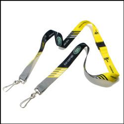 厂家直销双扣厂牌挂绳定做印LOGO工作证件套挂绳