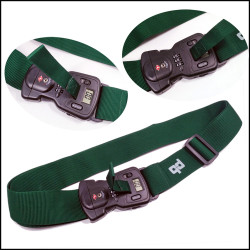 深平纹可称重带密码插扣安全耐用的行李箱绑带打包带