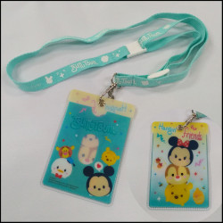 Cartoon children promotional gift  lanyard with PVC badge holder