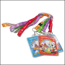 迪士尼周年庆宣传赠品纪念品定制挂绳热转印儿童挂带