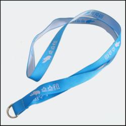厂家直销可定制LOGO提花织带挂绳工作证挂带