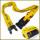 通用OPEL品牌宣传箱包带可称重海关密码锁行李拖运带