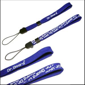 蓝色双层PK短带手机钥匙U盘多用途挂绳