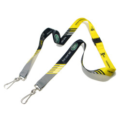 High quality custom design doble ended swivel J hook lanyard manufactory