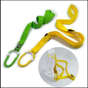 多规格可调节水壶扣长短带户外旅行多功能挂扣短绳