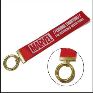 漫威宣传纪念品爬山扣尼龙短带包包饰品挂带锁匙手腕带