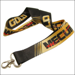 Hot stylish and durable widening thermal transfer fashion logo sublimation neck lanyards