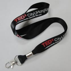 柔软舒适的不裉色的尼龙带证件胸卡挂绳证件尼龙挂带