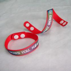 炫酷七彩反光带手腕带纪念礼品赠品带