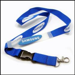 SAMSUNG带硅胶吊带工作证件套带厂牌挂绳