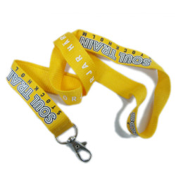 Bamboo colorful material factory directly name brand card holder neck lanyards