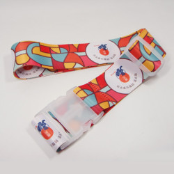 客人订制宣传赠品纪念品薄款热转印箱包带