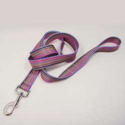 细条纹热转印宠物牵引绳遛狗带宠物带